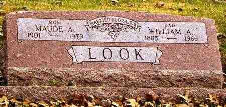 LOOK, WILLIAM A - Shawnee County, Kansas   WILLIAM A LOOK - Kansas Gravestone Photos