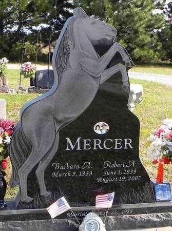 MERCER, ROBERT ANDREW - Shawnee County, Kansas | ROBERT ANDREW MERCER - Kansas Gravestone Photos