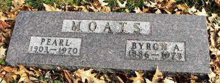 MOATS, BYRON A - Shawnee County, Kansas | BYRON A MOATS - Kansas Gravestone Photos