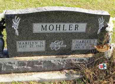 MOHLER, CHARLES R - Shawnee County, Kansas | CHARLES R MOHLER - Kansas Gravestone Photos