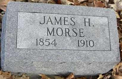MORSE, JAMES H - Shawnee County, Kansas | JAMES H MORSE - Kansas Gravestone Photos