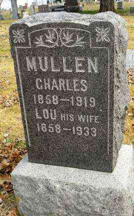 MULLEN, LOU - Shawnee County, Kansas | LOU MULLEN - Kansas Gravestone Photos