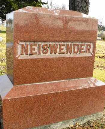 NEISWENDER, FAMILY MONUMENT - Shawnee County, Kansas   FAMILY MONUMENT NEISWENDER - Kansas Gravestone Photos