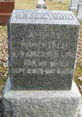 DOEL ROBERTSON, IDA MATILDA - Shawnee County, Kansas | IDA MATILDA DOEL ROBERTSON - Kansas Gravestone Photos
