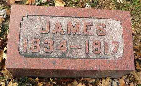 ROBERTSON, JAMES - Shawnee County, Kansas | JAMES ROBERTSON - Kansas Gravestone Photos