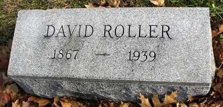 ROLLER, DAVID - Shawnee County, Kansas   DAVID ROLLER - Kansas Gravestone Photos