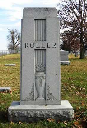 ROLLER, FAMILY MONUMENT - Shawnee County, Kansas | FAMILY MONUMENT ROLLER - Kansas Gravestone Photos