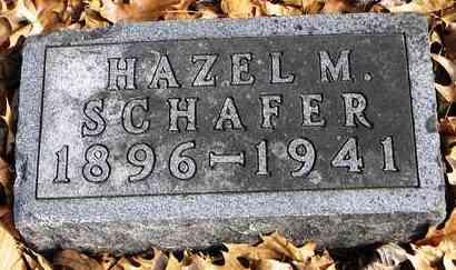 FORBES SCHAFER, HAZEL M - Shawnee County, Kansas   HAZEL M FORBES SCHAFER - Kansas Gravestone Photos