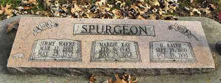 SPURGEON, ORION RALPH - Shawnee County, Kansas | ORION RALPH SPURGEON - Kansas Gravestone Photos