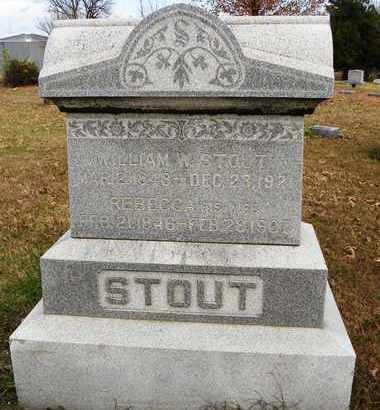 STOUT, WILLIAM W - Shawnee County, Kansas | WILLIAM W STOUT - Kansas Gravestone Photos