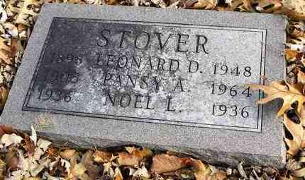 STOVER, NOEL L - Shawnee County, Kansas | NOEL L STOVER - Kansas Gravestone Photos
