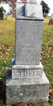 STOVER, SIMON - Shawnee County, Kansas   SIMON STOVER - Kansas Gravestone Photos
