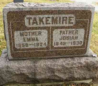 TAKEMIRE, EMMA - Shawnee County, Kansas | EMMA TAKEMIRE - Kansas Gravestone Photos