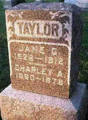 TAYLOR, JANE G - Shawnee County, Kansas | JANE G TAYLOR - Kansas Gravestone Photos