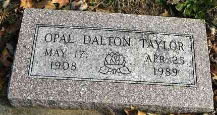 DALTON TAYLOR, OPAL - Shawnee County, Kansas | OPAL DALTON TAYLOR - Kansas Gravestone Photos