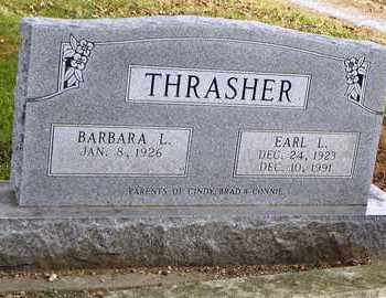THRASHER, EARL L - Shawnee County, Kansas | EARL L THRASHER - Kansas Gravestone Photos