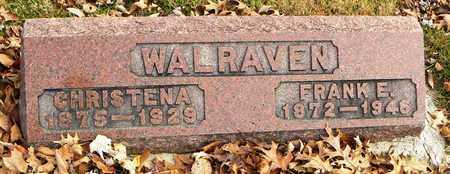 WALRAVEN, CHRISTINA - Shawnee County, Kansas | CHRISTINA WALRAVEN - Kansas Gravestone Photos