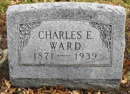 WARD, CHARLES E - Shawnee County, Kansas | CHARLES E WARD - Kansas Gravestone Photos