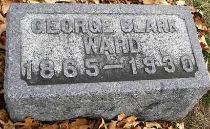 WARD, GEORGE CLARK - Shawnee County, Kansas | GEORGE CLARK WARD - Kansas Gravestone Photos