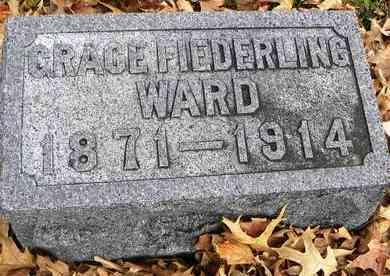 WARD, GRACE - Shawnee County, Kansas   GRACE WARD - Kansas Gravestone Photos