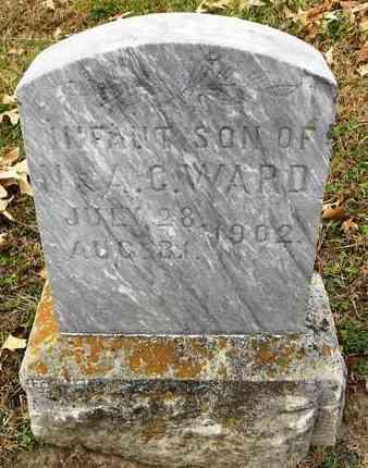WARD, INFANT - Shawnee County, Kansas   INFANT WARD - Kansas Gravestone Photos