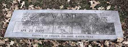 WARD, RAYMOND F - Shawnee County, Kansas | RAYMOND F WARD - Kansas Gravestone Photos