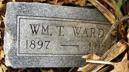 WARD, WILLIAM T - Shawnee County, Kansas | WILLIAM T WARD - Kansas Gravestone Photos