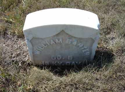 CARTER, WILLIAM   (VETERAN UNION) - Stanton County, Kansas | WILLIAM   (VETERAN UNION) CARTER - Kansas Gravestone Photos