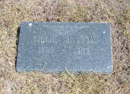 COX, LILLIE J - Stanton County, Kansas | LILLIE J COX - Kansas Gravestone Photos