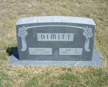 DIMITT, ERMINE - Stanton County, Kansas   ERMINE DIMITT - Kansas Gravestone Photos