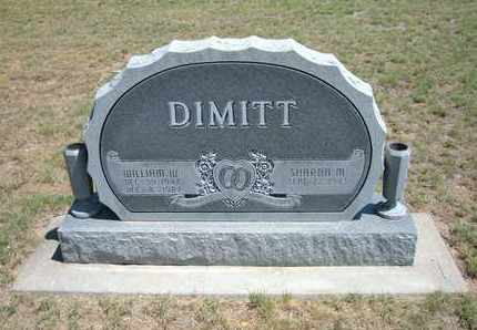 "DIMITT, WILLIAM W ""BILL"" - Stanton County, Kansas | WILLIAM W ""BILL"" DIMITT - Kansas Gravestone Photos"
