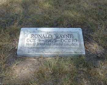 STALLINGS, RONALD WAYNE - Stanton County, Kansas | RONALD WAYNE STALLINGS - Kansas Gravestone Photos