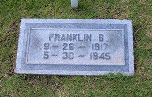PARSONS, FRANKLIN BAIRD   (VETERAN WWII DNB) - Stevens County, Kansas   FRANKLIN BAIRD   (VETERAN WWII DNB) PARSONS - Kansas Gravestone Photos