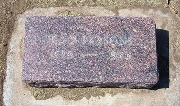 PARSONS, IRA VOLNEY - Stevens County, Kansas | IRA VOLNEY PARSONS - Kansas Gravestone Photos