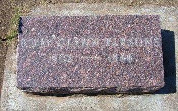 PARSONS, RUBY - Stevens County, Kansas | RUBY PARSONS - Kansas Gravestone Photos