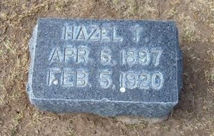 WOODCOCK, HAZEL T - Stevens County, Kansas | HAZEL T WOODCOCK - Kansas Gravestone Photos