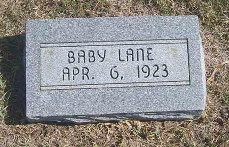 LANE, BABY - Trego County, Kansas | BABY LANE - Kansas Gravestone Photos