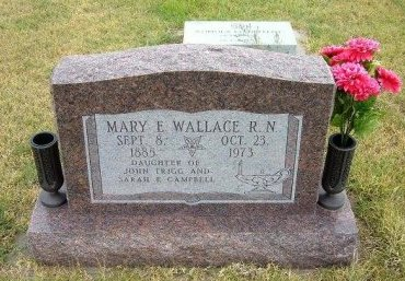 WALLACE, MARY ELIZABETH - Wallace County, Kansas | MARY ELIZABETH WALLACE - Kansas Gravestone Photos