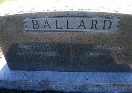BALLARD, MINNIE LOUISE - Wichita County, Kansas | MINNIE LOUISE BALLARD - Kansas Gravestone Photos