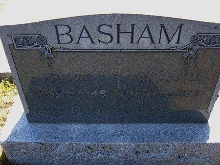 BASHAM, CYRUS W - Wichita County, Kansas | CYRUS W BASHAM - Kansas Gravestone Photos