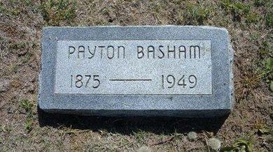 BASHAM, PAYTON - Wichita County, Kansas | PAYTON BASHAM - Kansas Gravestone Photos