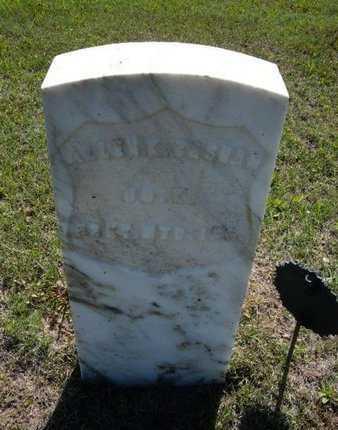 BASHAM, ALLEN KELLOGG  (VETERAN UNION) - Wichita County, Kansas   ALLEN KELLOGG  (VETERAN UNION) BASHAM - Kansas Gravestone Photos