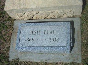 OEHMIG BLAU, ELSIE - Wichita County, Kansas   ELSIE OEHMIG BLAU - Kansas Gravestone Photos