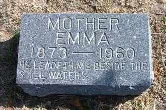 BLOEDORN, EMMA - Wichita County, Kansas | EMMA BLOEDORN - Kansas Gravestone Photos