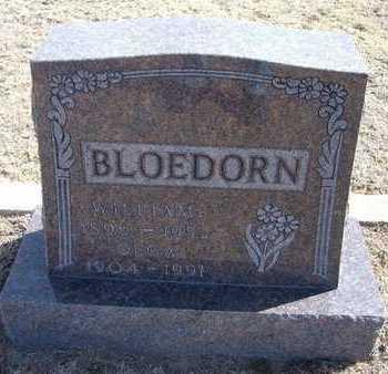 BLOEDORN, OLGA - Wichita County, Kansas | OLGA BLOEDORN - Kansas Gravestone Photos