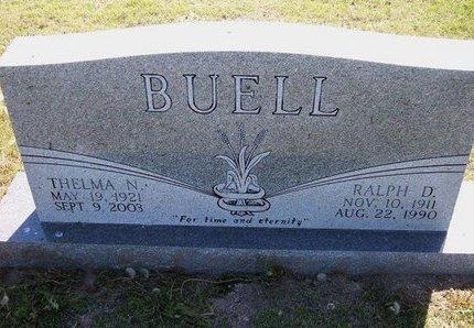 BUEL, RALPH DELZY - Wichita County, Kansas | RALPH DELZY BUEL - Kansas Gravestone Photos