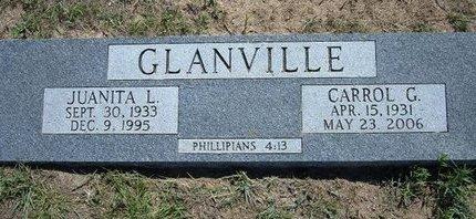 GLANVILLE, JUANITA L - Wichita County, Kansas | JUANITA L GLANVILLE - Kansas Gravestone Photos