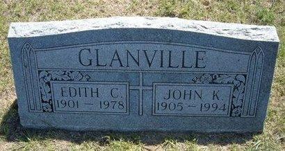 GLANVILLE, JOHN KINNEY - Wichita County, Kansas | JOHN KINNEY GLANVILLE - Kansas Gravestone Photos