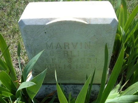 GOERLITZ, MARVIN - Wichita County, Kansas | MARVIN GOERLITZ - Kansas Gravestone Photos