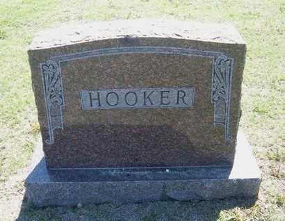 HOOKER  FAMILY GRAVESTONE,  - Wichita County, Kansas |  HOOKER  FAMILY GRAVESTONE - Kansas Gravestone Photos